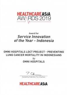 Service Innovation of The Year - 2019