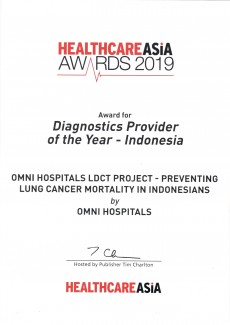 Diagnostic Provider of the Year - 2019