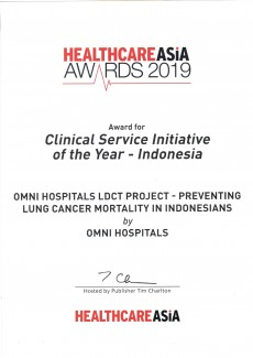 Clinical Service Initiative of the Year - 2019